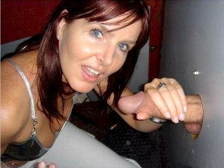 image Red head wife blow job